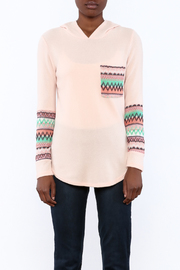 Style Rack Pink Cozy Sweater - Side cropped