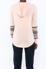 Style Rack Pink Cozy Sweater - Back cropped