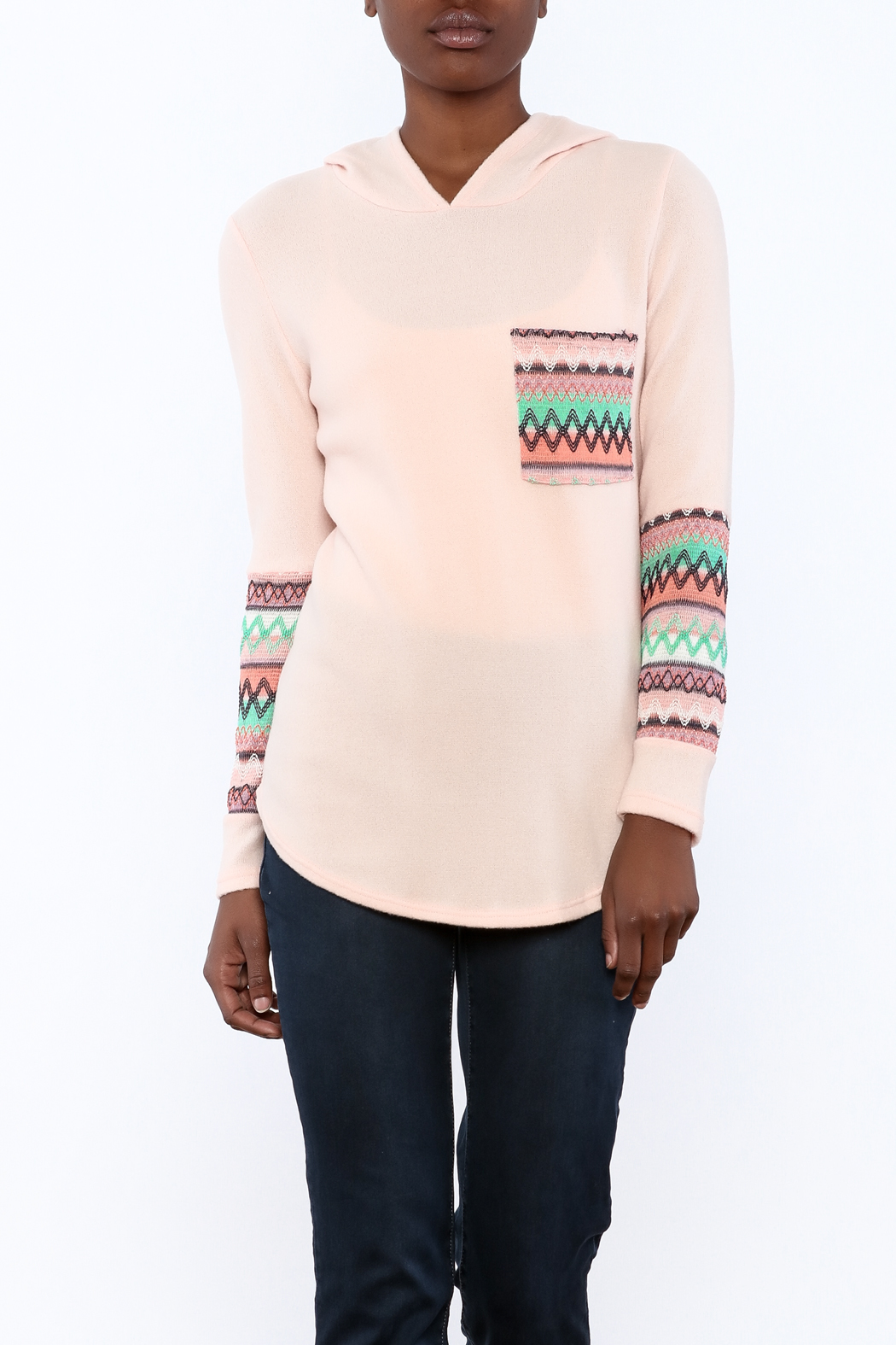 Style Rack Pink Cozy Sweater - Main Image