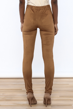 Shoptiques Product: Soft Faux Suede Legging