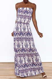 Style Rock Printed Maxi Dress - Product Mini Image