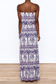 Style Rock Printed Maxi Dress - Back cropped