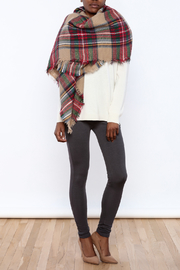 Style Trolley The Rachel Blanket Scarf - Front cropped