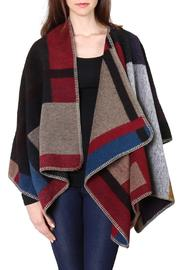 Style Loft Jane Poncho Cape - Front full body