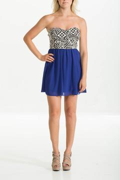 Style Rack Aztec Royal Dress - Product List Image