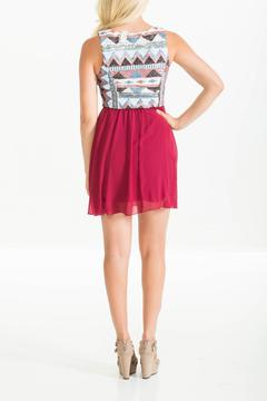 Style Rack Burgundy Sequin Dress - Alternate List Image