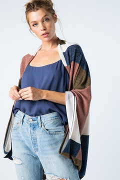 Style Rack Color Block Cardigan - Product List Image