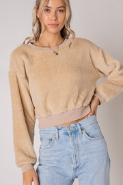 Style Rack Furry Pullover Sweater - Front full body