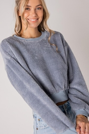 Style Rack Furry Pullover Sweater - Product Mini Image