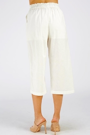 Style Rack Linen Culotte Pants - Side cropped