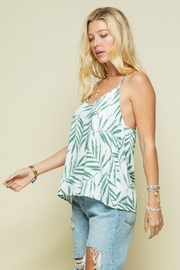 Style Rack Palm Print Cami Top - Other
