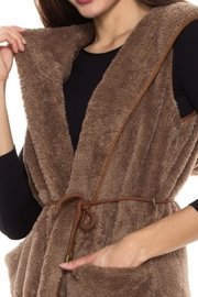 Style Rack Plush Hooded Vest - Other