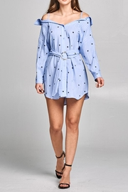 Style Rack Star Shirt Dress - Product Mini Image