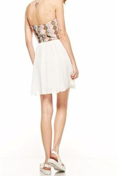Shoptiques Product: Strapless Sequence Dress