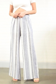 Style Rack Stripe Pants - Front cropped
