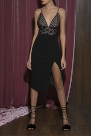 Style Stalker Lace Midi Dress - Front cropped
