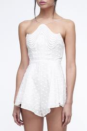 Shoptiques Product: Ripple Romper White