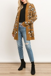 Style Trolley Animal Print Knit-Cardigan - Other