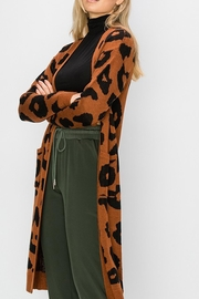 Style Trolley Bagheera Print Cardigan - Front full body