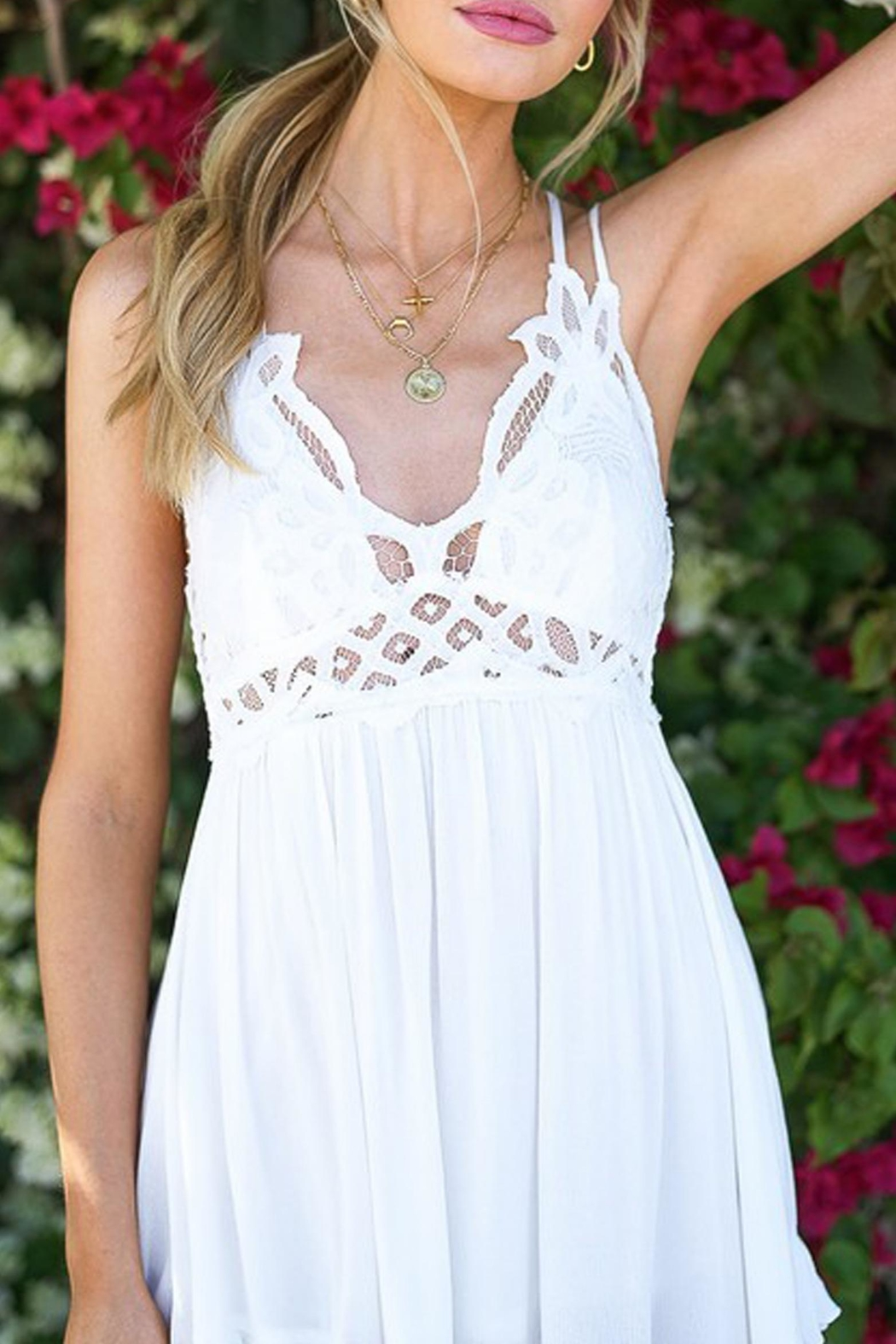Style Trolley Camilla Boho Sundress - Back Cropped Image