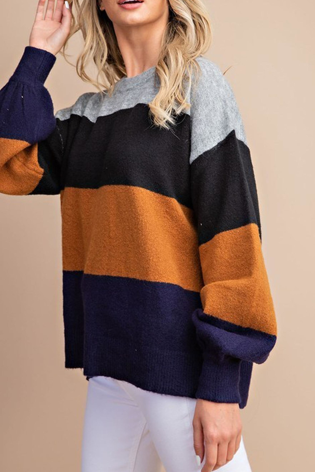 Style Trolley Kimberly Color-Block Sweater - Main Image