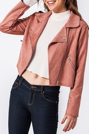 Style Trolley Mimi Moto Jacket - Front cropped