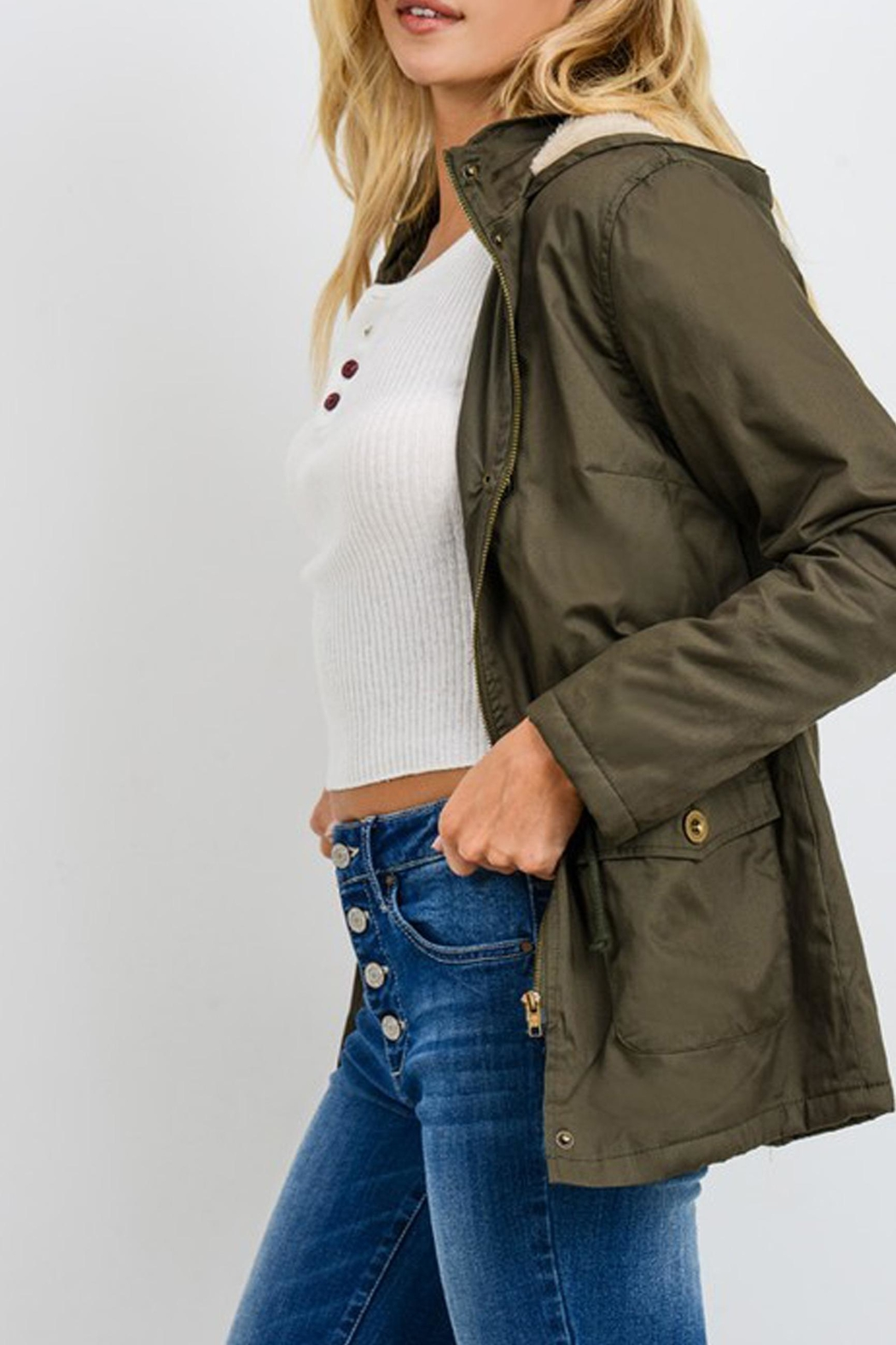 Style Trolley Utility Parka - Front Full Image