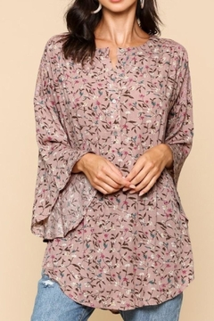 Style U Floral Print Top - Product List Image