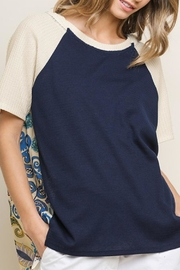 Style U Short-Sleeve Hooded Top - Front cropped