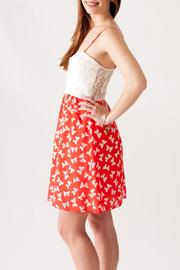 Stylebook Bow Print Dress - Side cropped