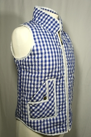 Styleholic Gingham Puffer Vest - Side cropped