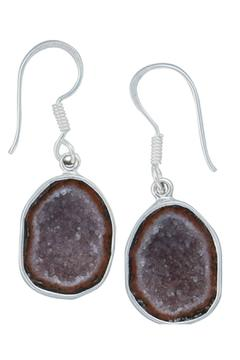 Styles Boutique Sterling Geode Earring - Alternate List Image