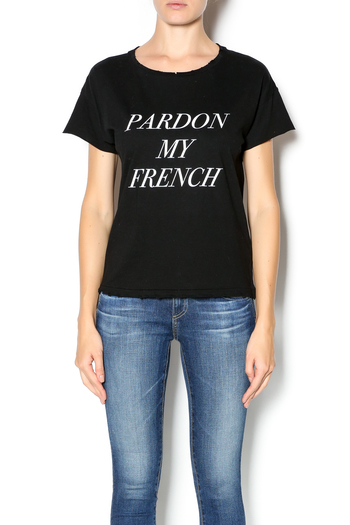 stylestalker pardon my french tee from florida by jewel be. Black Bedroom Furniture Sets. Home Design Ideas