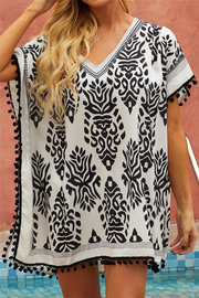 Shewin Stylish Beach Coverup - Front cropped
