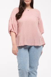 blu Pepper  Stylish Sweetheart top - Front cropped