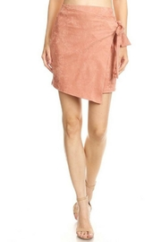 Bear Dance Suade High-Waisted Skirt - Front cropped