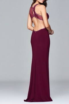 Faviana Subtle Beaded Gown - Alternate List Image