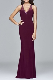 Faviana Subtle Beaded Gown - Product Mini Image