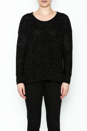 subtle luxury Basket Weave Pullover - Front full body
