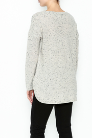 subtle luxury Basket Weave Pullover - Back cropped