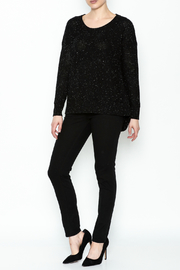 subtle luxury Basket Weave Pullover - Side cropped