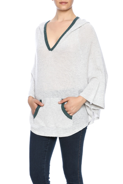 subtle luxury Cashmere Hoodie Poncho - Product List Image