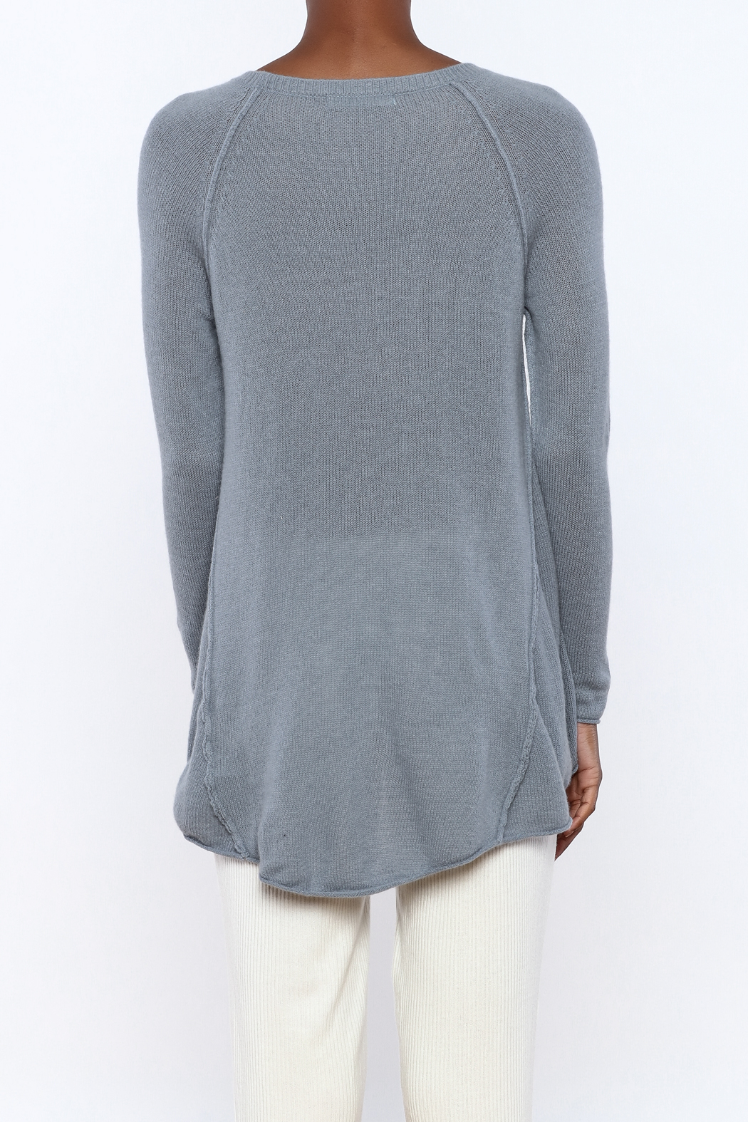subtle luxury Cozy Cashmere Swing Sweater from Idaho by Madeline ...