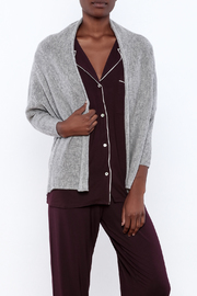 subtle luxury Crop Shawl Cashmere Jacket - Product Mini Image