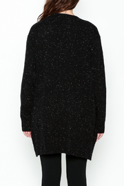 subtle luxury Lou Lounge Cardigan - Back cropped