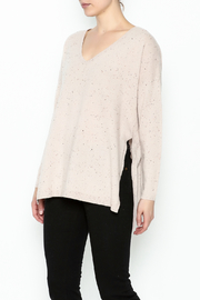 subtle luxury Open Rib Sweater - Front cropped