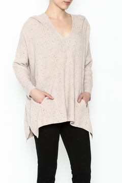 Shoptiques Product: Sweater Hoodie Poncho