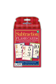 Eeboo Subtraction Flash Cards - Product Mini Image