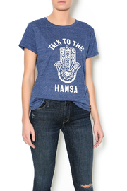 Suburban riot Hamsa Tee - Front cropped