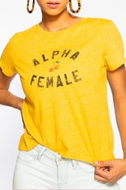 Suburban riot Alpha Female Tee - Front cropped